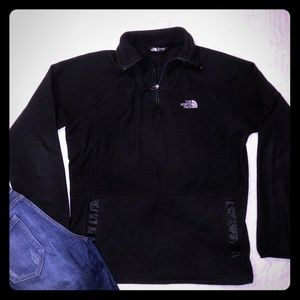 Fleece North Face pullover. Size Large
